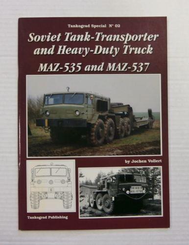 TANKOGRAD  002 SOVIET TANK TRANSPORTER AND HEAVY DUTY TRUCK MAZ-535 AND MAZ-537