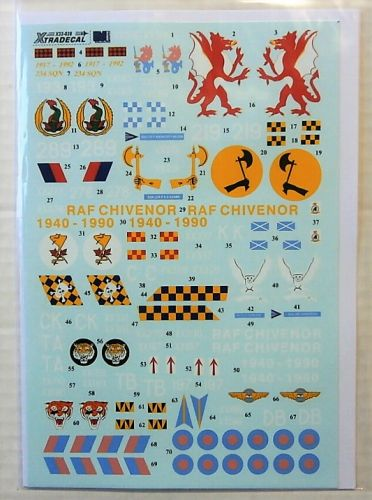 XTRADECAL 1/32 32028 BAE HAWK T.1 GREY
