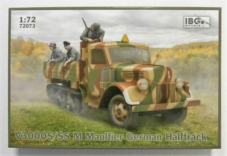 IBG MODELS 1/72 72073 V3000S/SS M MAULTIER GERMAN HALFTRACK