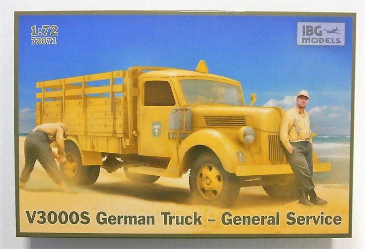 IBG MODELS 1/72 72071 V3000S GERMAN TRUCK GENERAL SERVICE