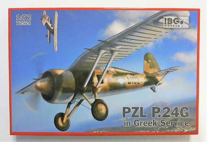 IBG MODELS 1/72 72524 PZL P.24G IN GREEK SERVICE