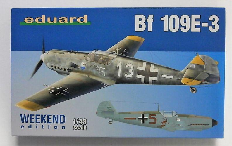 EDUARD 1/48 84157 MESSERSCHMITT BF 109E-3 WEEKEND EDITION