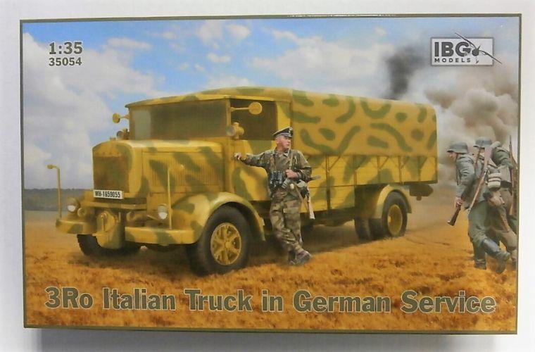IBG MODELS 1/35 35054 3RO ITALIAN TRUCK IN GERMAN SERVICE