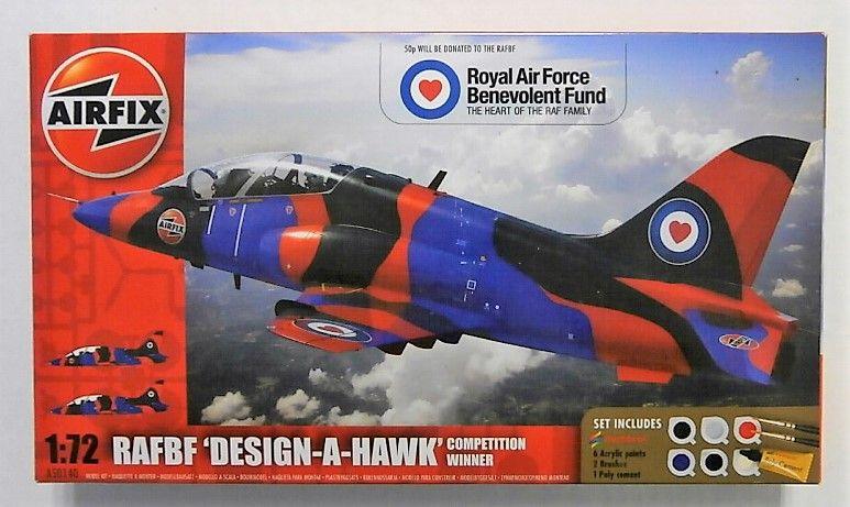 AIRFIX 1/72 50140 RAFBF DESIGN-A-HAWK COMPETITION WINNER