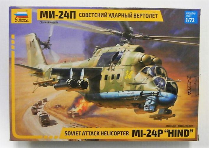 ZVEZDA 1/72 7315 MI-24P HIND SOVIET ATTACK HELICOPTER
