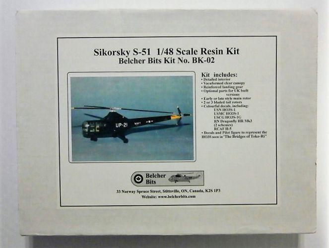 BELCHER BITS 1/48 BK-02 SIKORSKY S-51