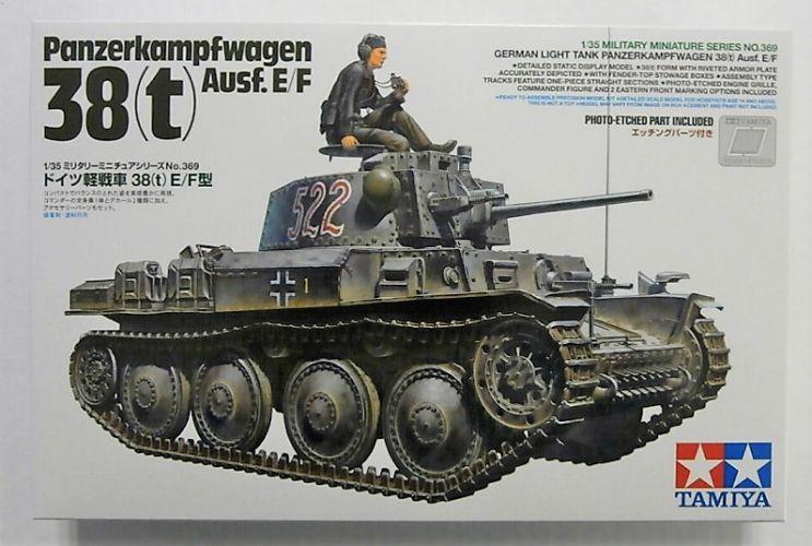 TAMIYA 1/35 35369 PANZERKAMPFWAGEN 38 t  Ausf.E/F