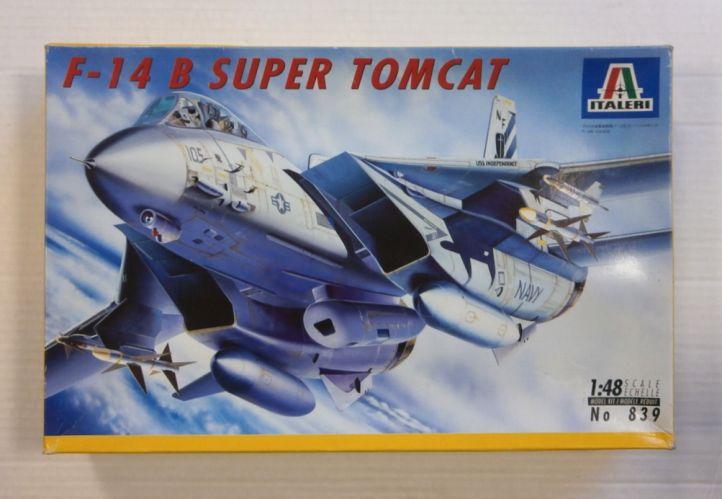 ITALERI 1/48 839 F-14 B SUPER TOMCAT