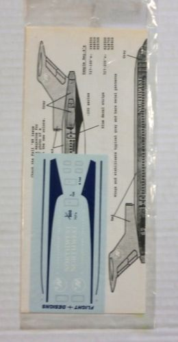 DISCOUNT DECALS 1/200 1628. FLIGHT DESIGNS NORTHWEST 727s