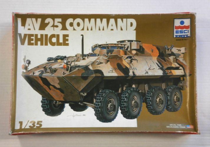 ESCI 1/35 5034 LAV 25 COMMAND VEHICLE