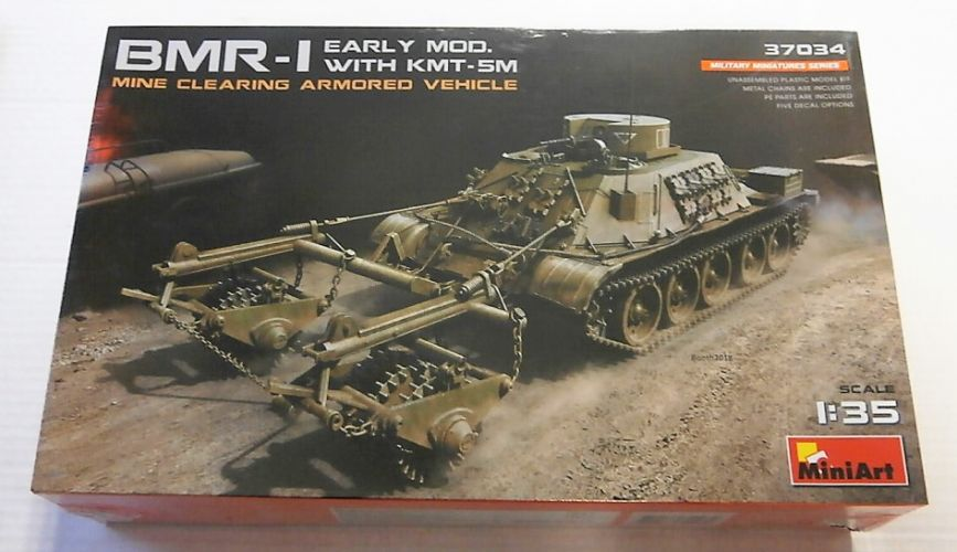 MINIART 1/35 37034 BMR-I EARLY MOD WITH KMT-5M