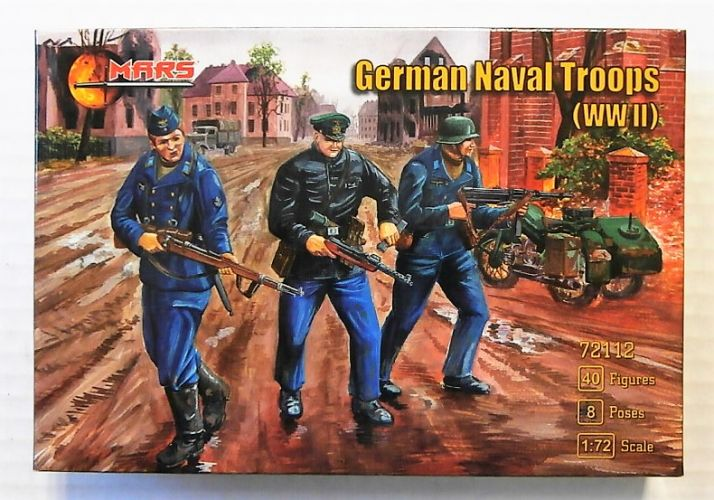 MARS 1/72 72112 GERMAN NAVAL TROOPS WWII
