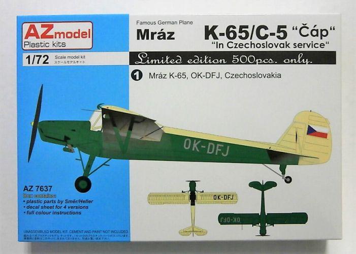 AZ MODEL 1/72 7637 MRAZ K-65/ C-5 CAP IN CZECHOSLOVAK SERVICE