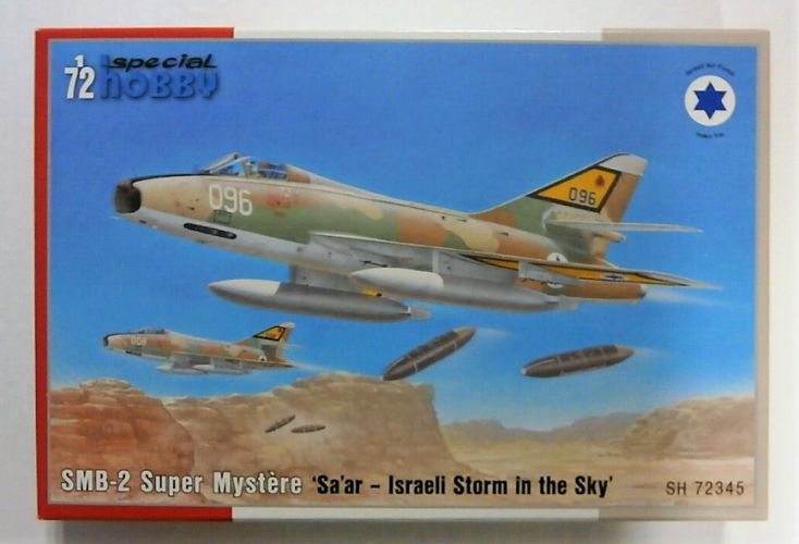 SPECIAL HOBBY 1/72 72345 SMB-2 SUPER MYSTERE ISRAELI STORM IN THE SKY