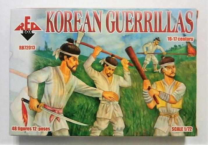 RED BOX 1/72 72013 KOREAN GUERRILLAS 16-17TH CENTURY