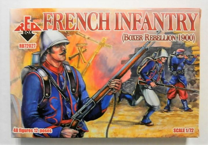 RED BOX 1/72 72027 FRENCH INFANTRY BOXER REBELLION 1900