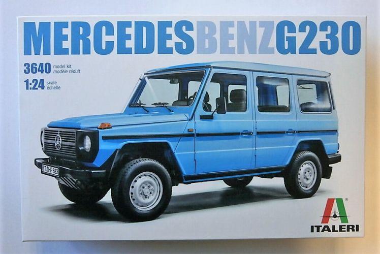 ITALERI 1/24 3640 MERCEDES-BENZ G230