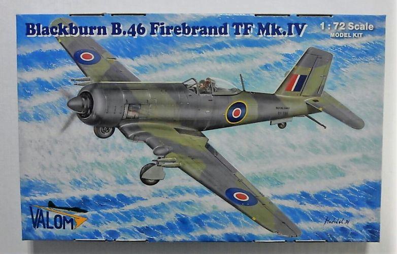 VALOM 1/72 72140 BLACKBURN B.46 FIREBRAND TF MK.IV
