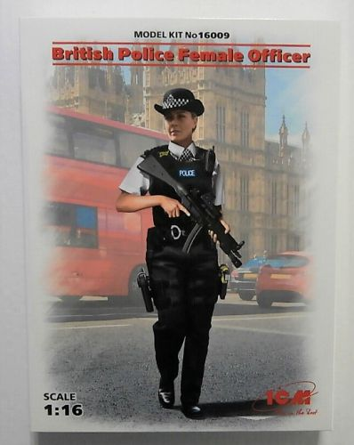 ICM 1/16 16009 BRITISH POLICE FEMALE OFFICER