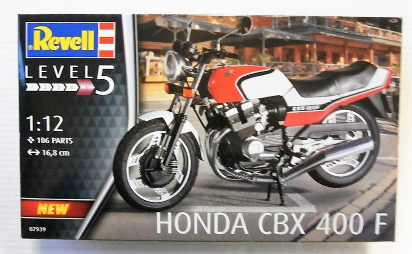 REVELL 1/12 07939 HONDA CBX 400 F