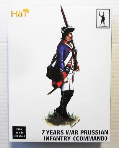 HAT INDUSTRIES 1/32 9400 7 YEARS WAR PRUSSIAN INFANTRY COMMAND