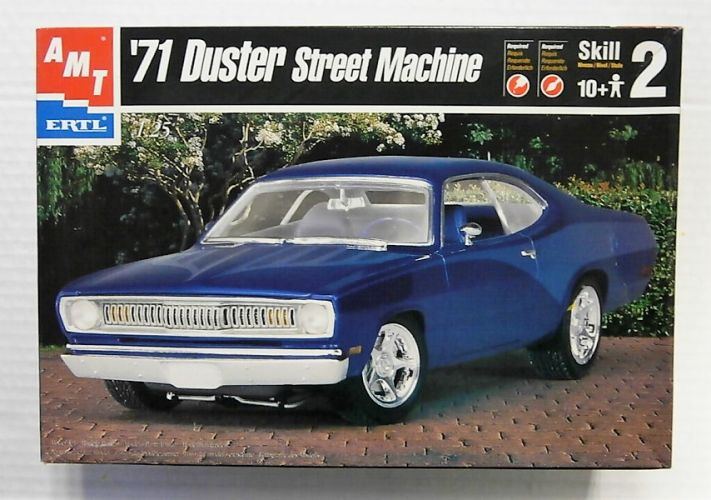 AMT 1/25 8334 1971 DUSTER STREET MACHINE