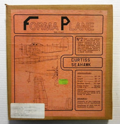 FORMAPLANE 1/72 CURTISS SEAHAWK
