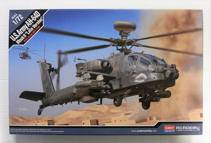 ACADEMY 1/72 12551 US ARMY AH-64D BLOCK II  LATE VERSION