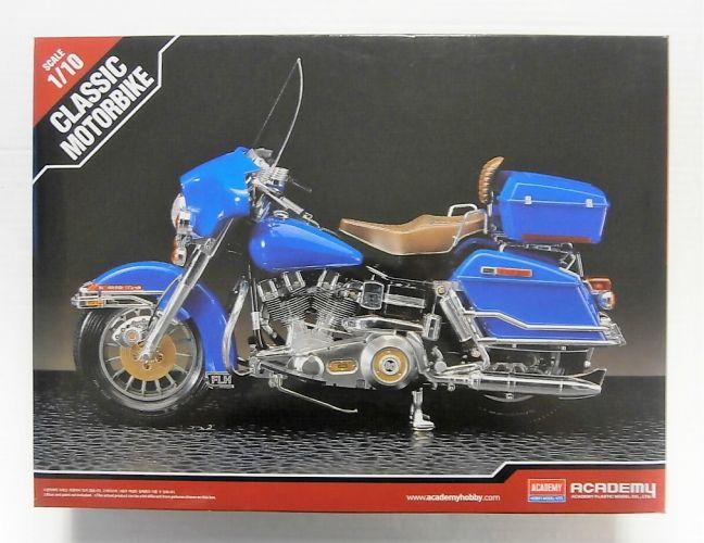 ACADEMY 1/10 15501 CLASSIC MOTORBIKE