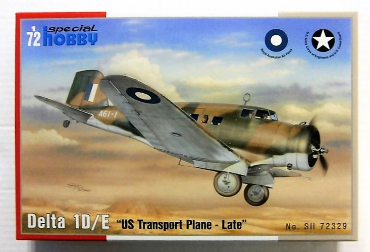 SPECIAL HOBBY 1/72 72329 DELTA 1D/E - US TRANSPORT PLANE - LATE