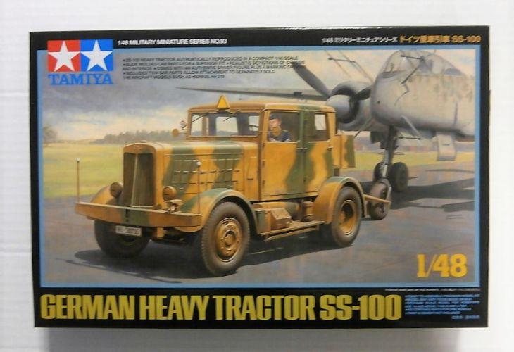 TAMIYA 1/48 32593 GERMAN HEAVY TRACTOR SS-100