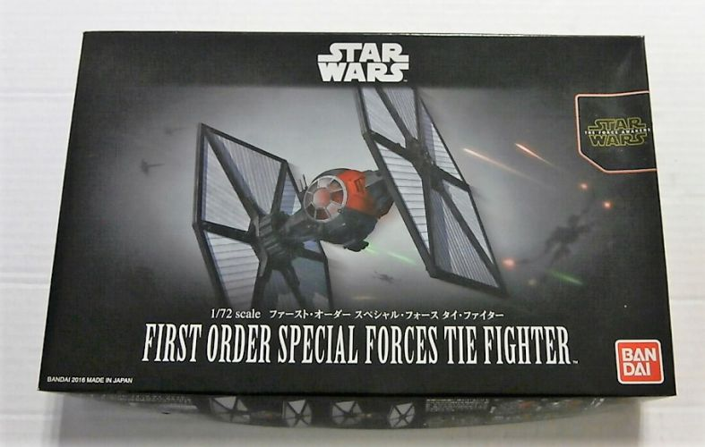 BANDAI 1/72 0203219 STAR WARS FIRST ORDER SPECIAL FORCES TIE FIGHTER