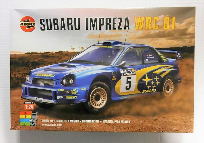 AIRFIX 1/24 07406 SUBARU IMPREZA WRC 01