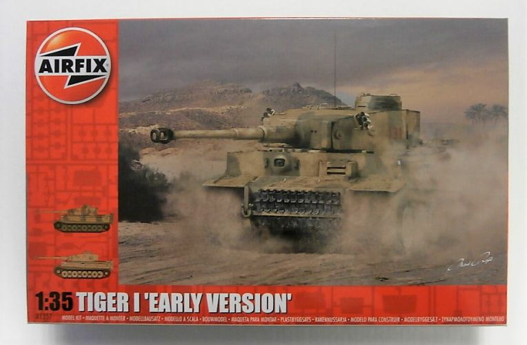 AIRFIX 1/35 1357 TIGER I EARLY VERSION