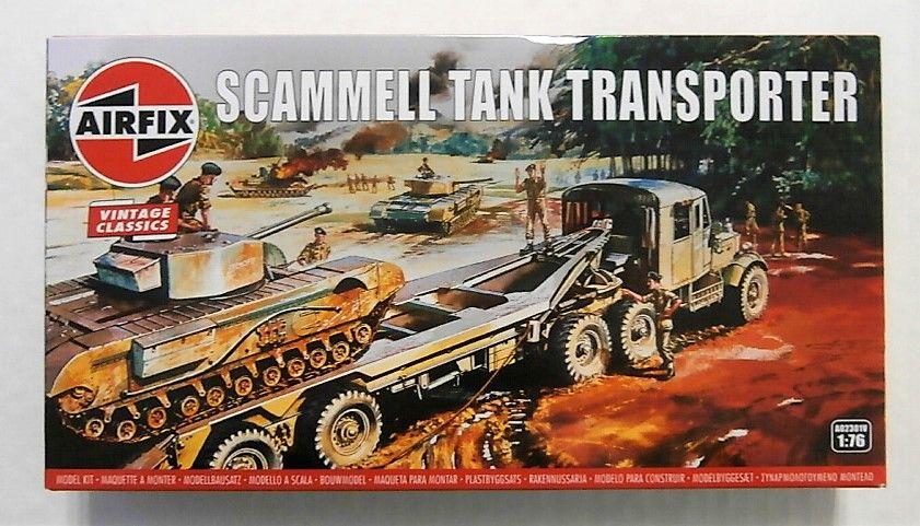 AIRFIX 1/76 A02301V VINTAGE CLASSICS - SCAMMELL TANK TRANSPORTER