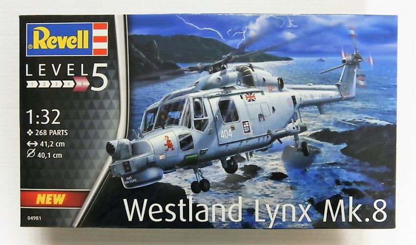 REVELL 1/32 04981 WESTLAND LYNX MK.8