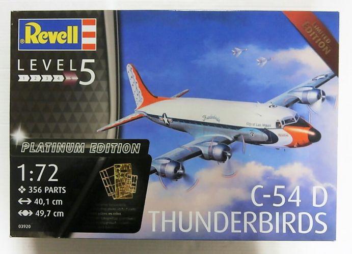 REVELL 1/72 03920 C-54 D THUNDERBIRDS PLATINUM EDITION