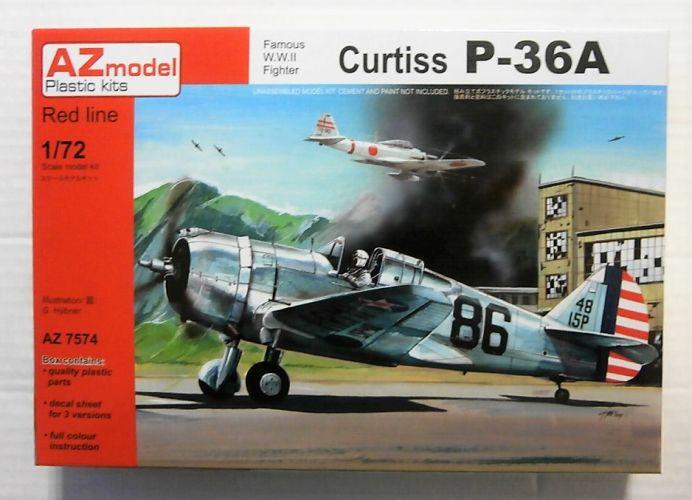 AZ MODEL 1/72 7574 CURTISS P-36A