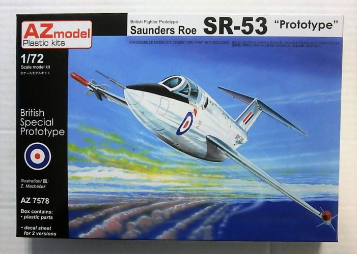 AZ MODEL 1/72 7578 SAUNDERS ROE SR-53 PROTOTYPE