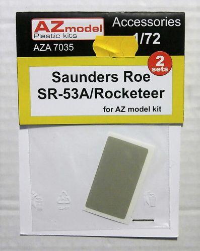 AZ MODEL 1/72 7035 SAUNDERS ROE SR-53A/ROCKETEER