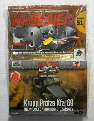 FIRST TO FIGHT 1/72 051 KRUPP PROTZE Kfz.69