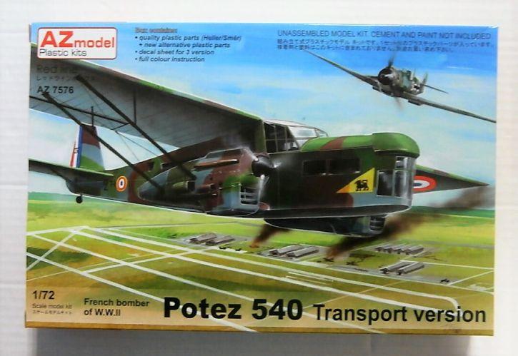 AZ MODEL 1/72 7576 POTEZ 540 TRANSPORT VERSION
