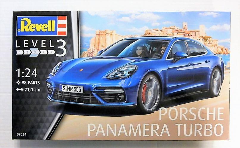 REVELL 1/24 07034 PORSCHE PANAMERA TURBO