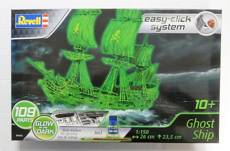 REVELL 1/150 05435 GHOST SHIP - GLOW IN THE DARK