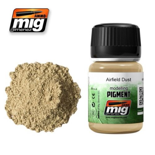 AMMO BY MIG JIMENEZ  3011 AIRFIELD DUST MODELLING PIGMENT 35ML