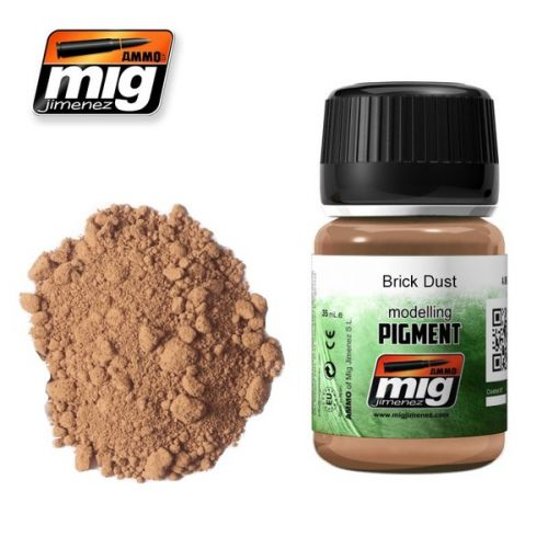 AMMO BY MIG JIMENEZ  3015 BRICK DUST MODELLING PIGMENT 35ML