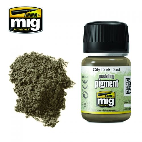 AMMO BY MIG JIMENEZ  3028 CITY DARK DUST WEATHERING PIGMENT 35ML