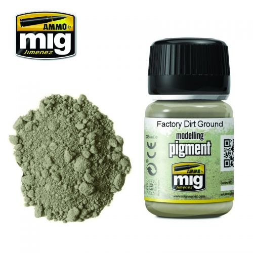 AMMO BY MIG JIMENEZ  3030 FACTORY DIRT GROUND MODELLING PIGMENT 35ML
