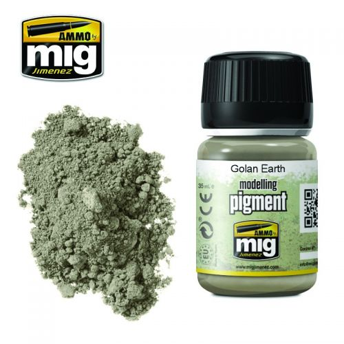 AMMO BY MIG JIMENEZ  3026 GOLAN EARTH MODELLING PIGMENT 35ML