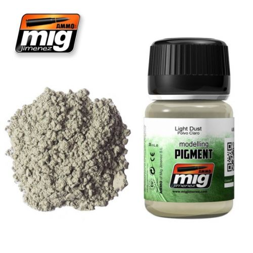 AMMO BY MIG JIMENEZ  3002 LIGHT DUST MODELLING PIGMENT 35ML